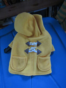 Brand new yellow duffle coat in x-small Kitchener / Waterloo Kitchener Area image 1