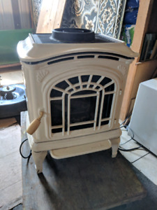 Free-standing Fire Place