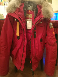 Winter Jacket/Parajumpers Gobi Red XS for men
