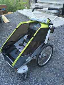 Chariot Thule double cougar 2015