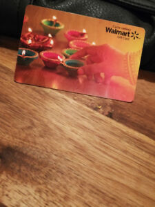 $280.00 Walmart Gift Card for $225.00