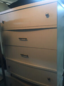 White dresser for sale.