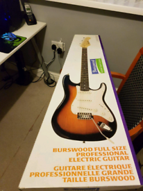 Brand New Burswood Electric Guitar with amp