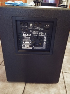 Alto Powered Speakers + stands +  Active Subwoofer