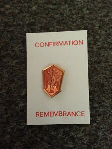 Confirmation Remembrance pin