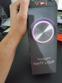 PARTY LIGHT BLUETOOTH SPEAKER BRAND NEW -