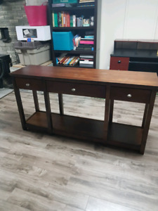 Meuble table console