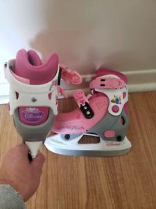 Adjustable disney skates