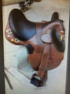 Authentic caribou outback kimberley poley series Aussie saddle