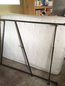 Free Double Bed with frame