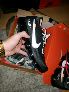 Nike Air Vapormax Off-White (Black) Size 10