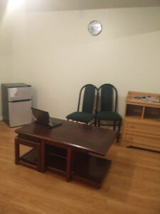 No Lease All Inclusive Basement Apartment Available Immediately