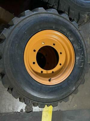 12x16.5 Galaxy Tirewheel Assy On Case 119243a1 Wheel For 580 Series Backhoes
