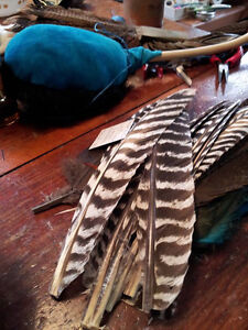 Small Smudging Turkey Feather Peterborough Peterborough Area image 3