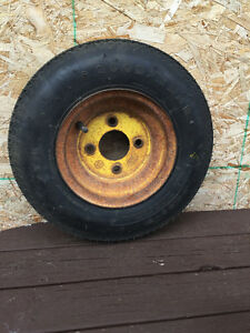4.80 x 8 trailer tire and rim