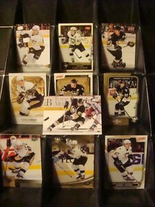 10 Different Sidney Crosby Hockey Cards