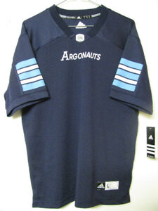 TORONTO ARGONAUTS FOOTBALL JERSEY YOUTH/ADULT OFFICIAL NWT