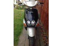 2001 Yamaha Neos 50cc - 12M MOT, new battery