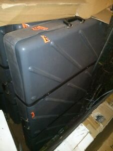 Used Portable Display and 4 Travel Cases