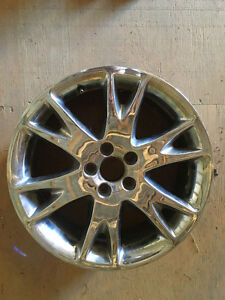 "18"" chrome rims in great condition. Cambridge Kitchener Area image 1"