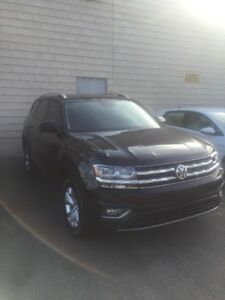 2018 Volkswagen ATLAS highline black on black