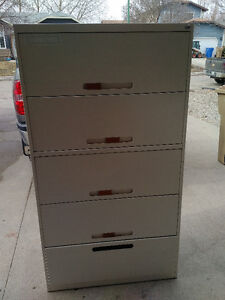 5 Drawer Lateral Filing Cabinet