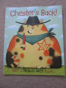 Chester's Back  Book