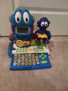 VTECH Alpha Bert and Sprocket Sonic  learning tool