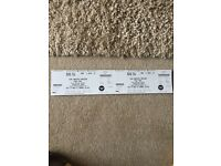 2 x Seated Take That Tickets