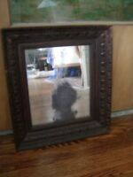 OLD WOODEN FRAME FOR MIRROR OR PICTURE
