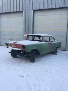 1956 Chev 2 door roller project