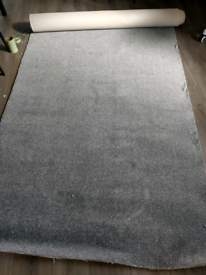 Grey carpet offcut new 350cm X 126cm
