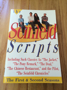 """The Seinfeld Scripts""- 1st & 2nd Seasons - NEW condition - $4 !"