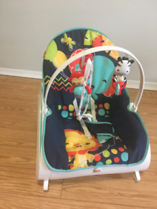 Fisher-Price Infant-to-Toddler Rocker & Graco Park N play