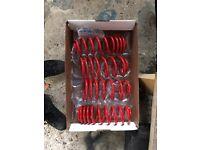 Lowering springs for VW Beetle, Mk4 Golf & Bora