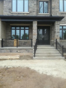Aluminum Columns/Glass/Fence/Rail/Residential and Commercial
