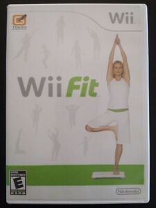 Wii Fit $3. Other fitness games also available $3-5 each