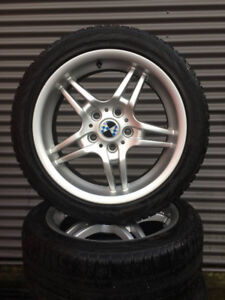 Great find! BMW Set of Snow Tires in Excellent Condition