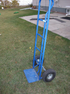 Blue handcart. $40 Great for moving boxes, furniture, or anythin