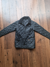 Boys M barbour quilted jacket