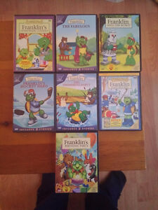 Franklin the Turtle DVDs