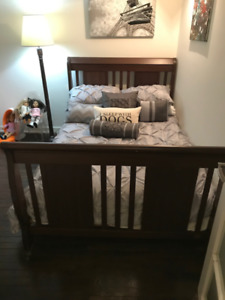 Kid's Wooden Bed Frame for a Double Bed - Great Condition!