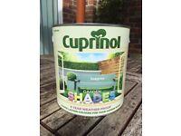 Cuprinol furniture paint - new & unopened