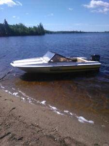 trade for a aluminum boat motor and trailer