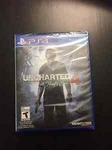 NEW UNCHARTED 4 - FACTORY SEALED