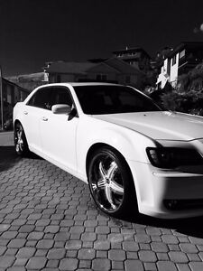"2012 Chrysler 300 S on  22"" Gianna Wheels"