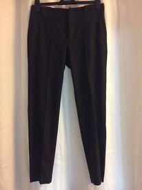 Zara grey trousers M