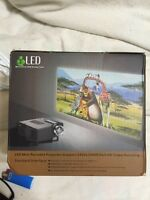Mini projector led , projects up to 100 inches