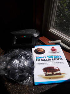 Wolfgang Puck pie maker/cooker/book does meatloaf and more.