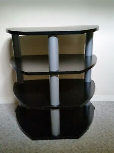 Multi Levelled Side Table / Entertainment Stand